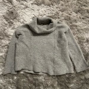 Free People Wool Turtleneck Pullover